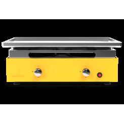 Plancha grill Creative 2 branders met roestvrijstalen bakplaat