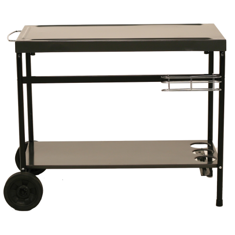 Metalen grill trolley