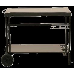 Metalen grill trolley